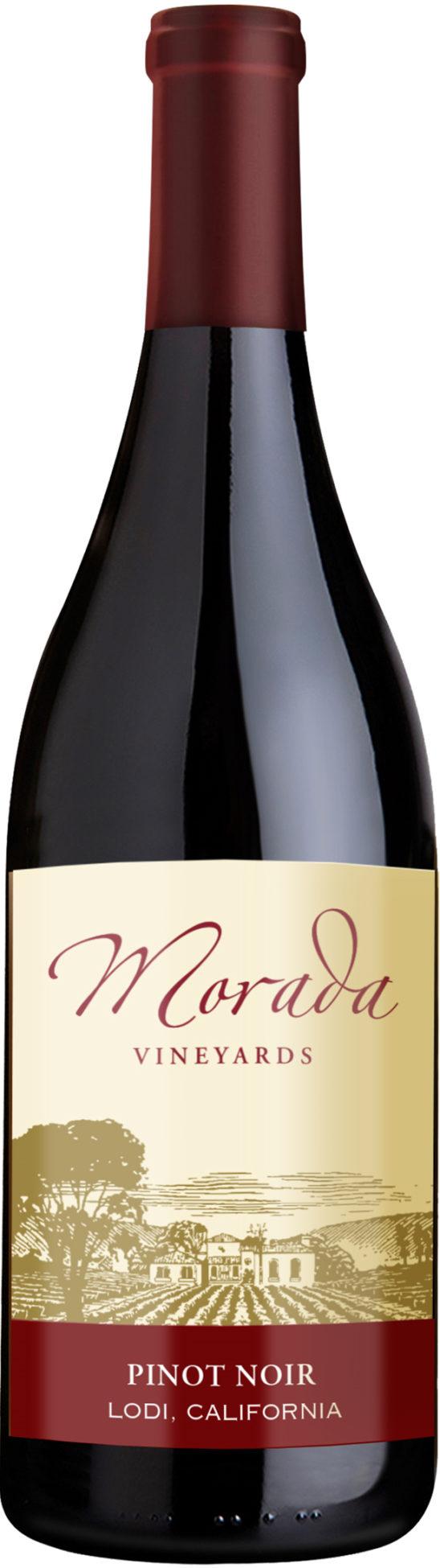 Morada Vineyards Pinot Noir